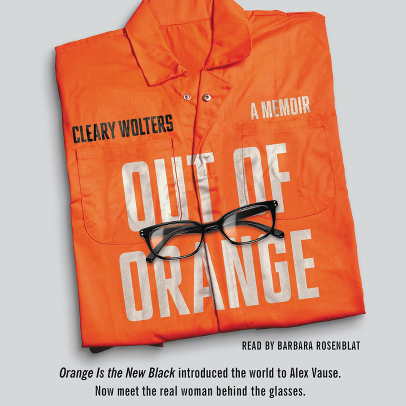Printable Out of Orange: A Memoir Audiobook Cover Art