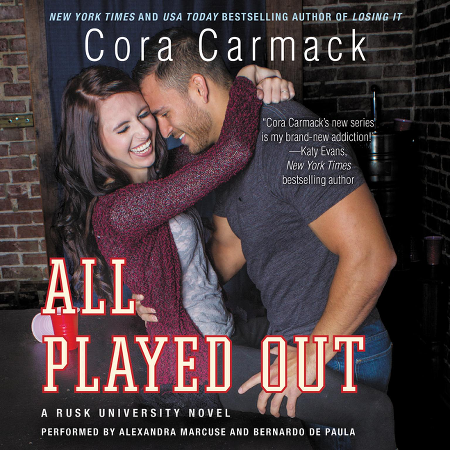 Printable All Played Out: A Rusk University Novel Audiobook Cover Art