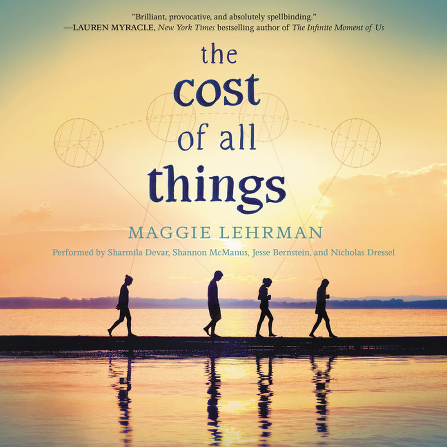 Printable The Cost of All Things Audiobook Cover Art