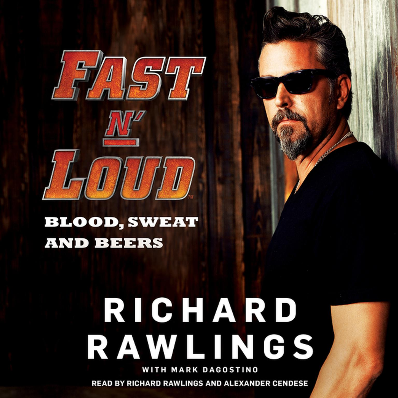 Printable Fast n' Loud: Blood, Sweat, and Beers Audiobook Cover Art