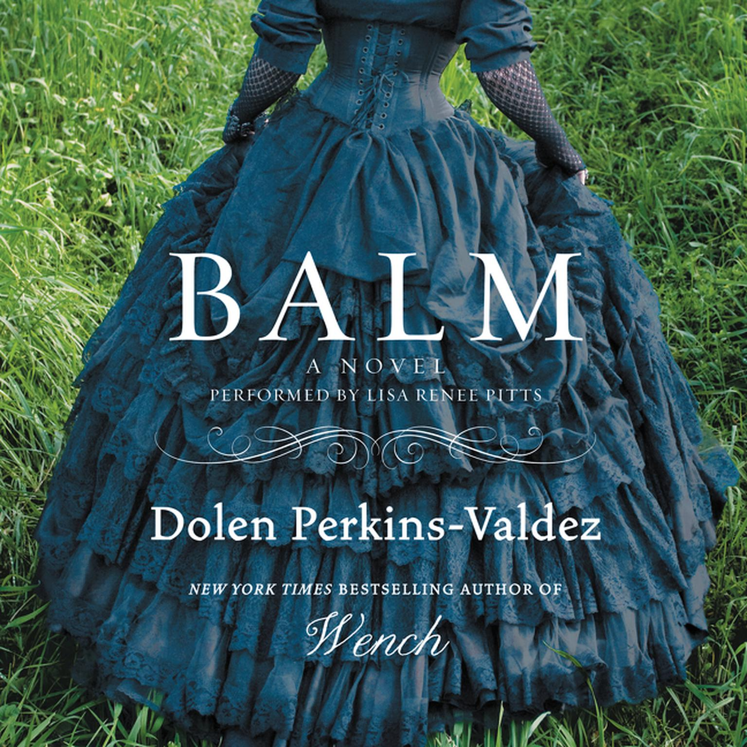 Printable Balm: A Novel Audiobook Cover Art