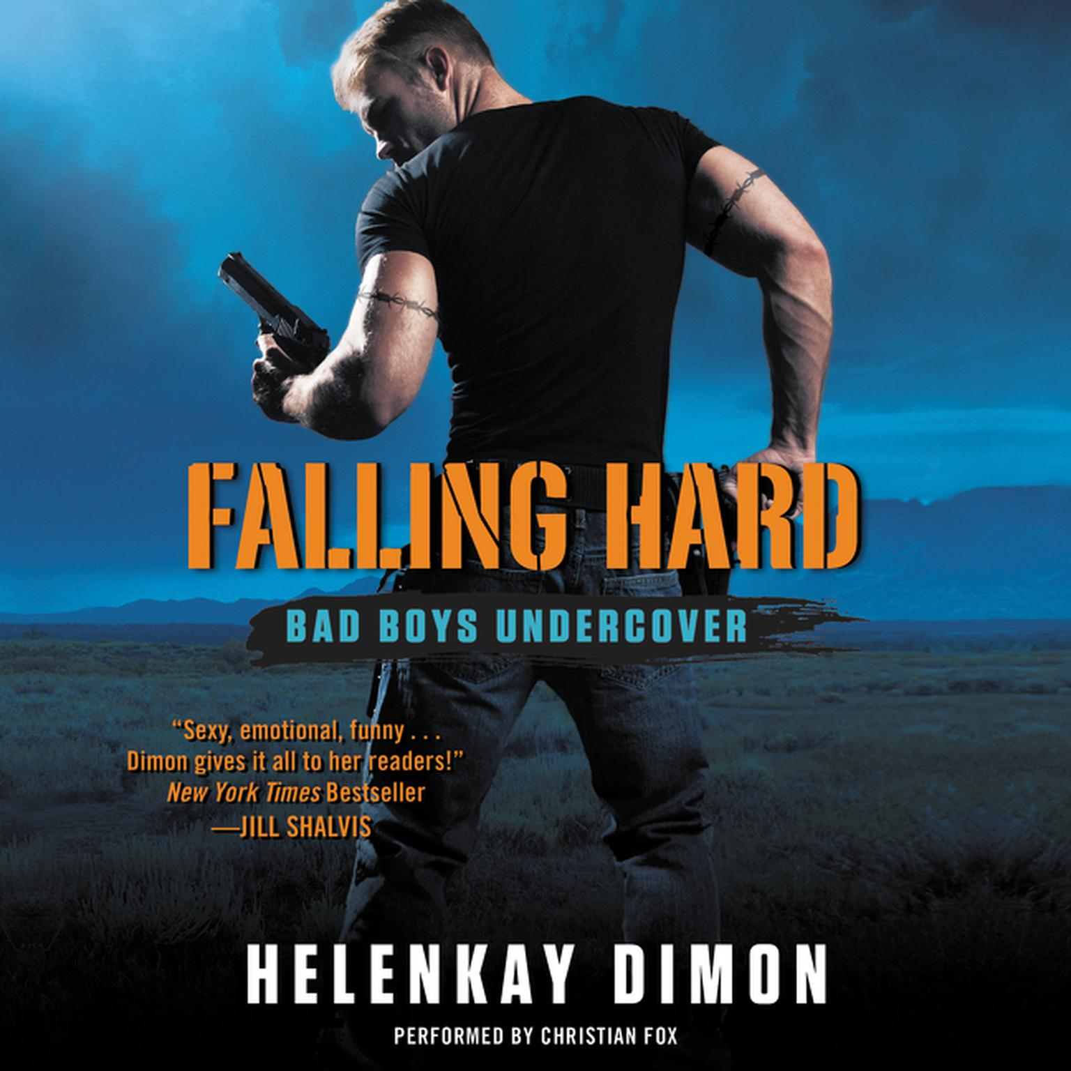 Printable Falling Hard: Bad Boys Undercover Audiobook Cover Art