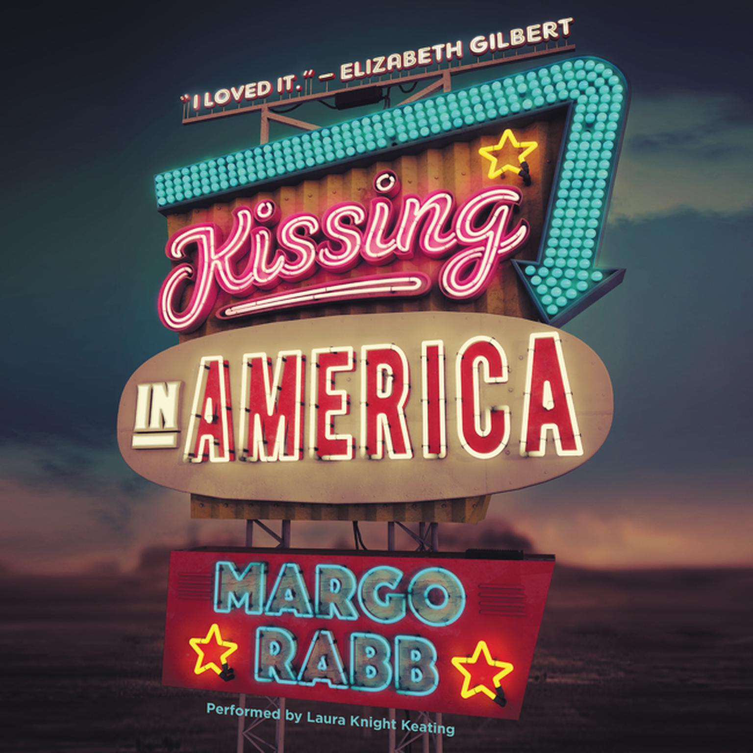 Printable Kissing in America Audiobook Cover Art