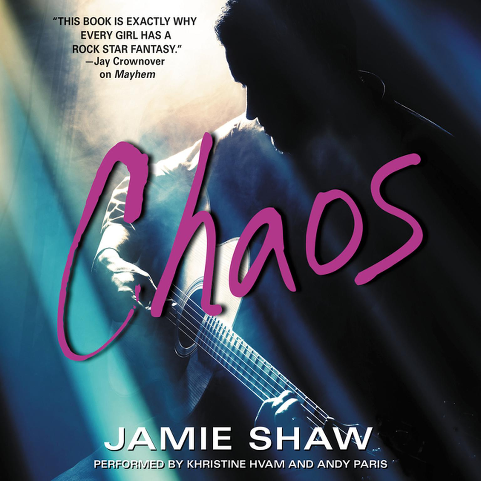 Printable Chaos Audiobook Cover Art