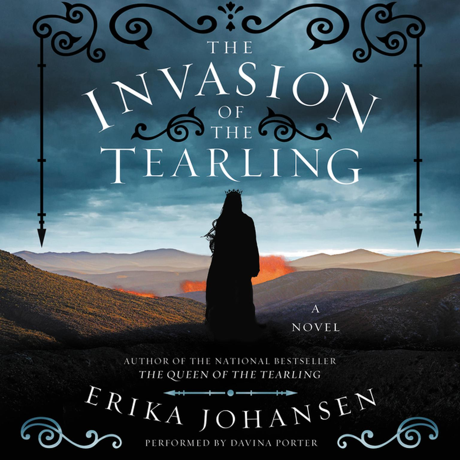 Printable The Invasion of the Tearling: A Novel Audiobook Cover Art