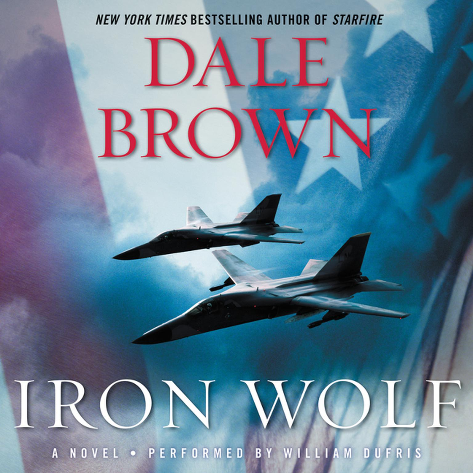 Printable Iron Wolf: A Novel Audiobook Cover Art