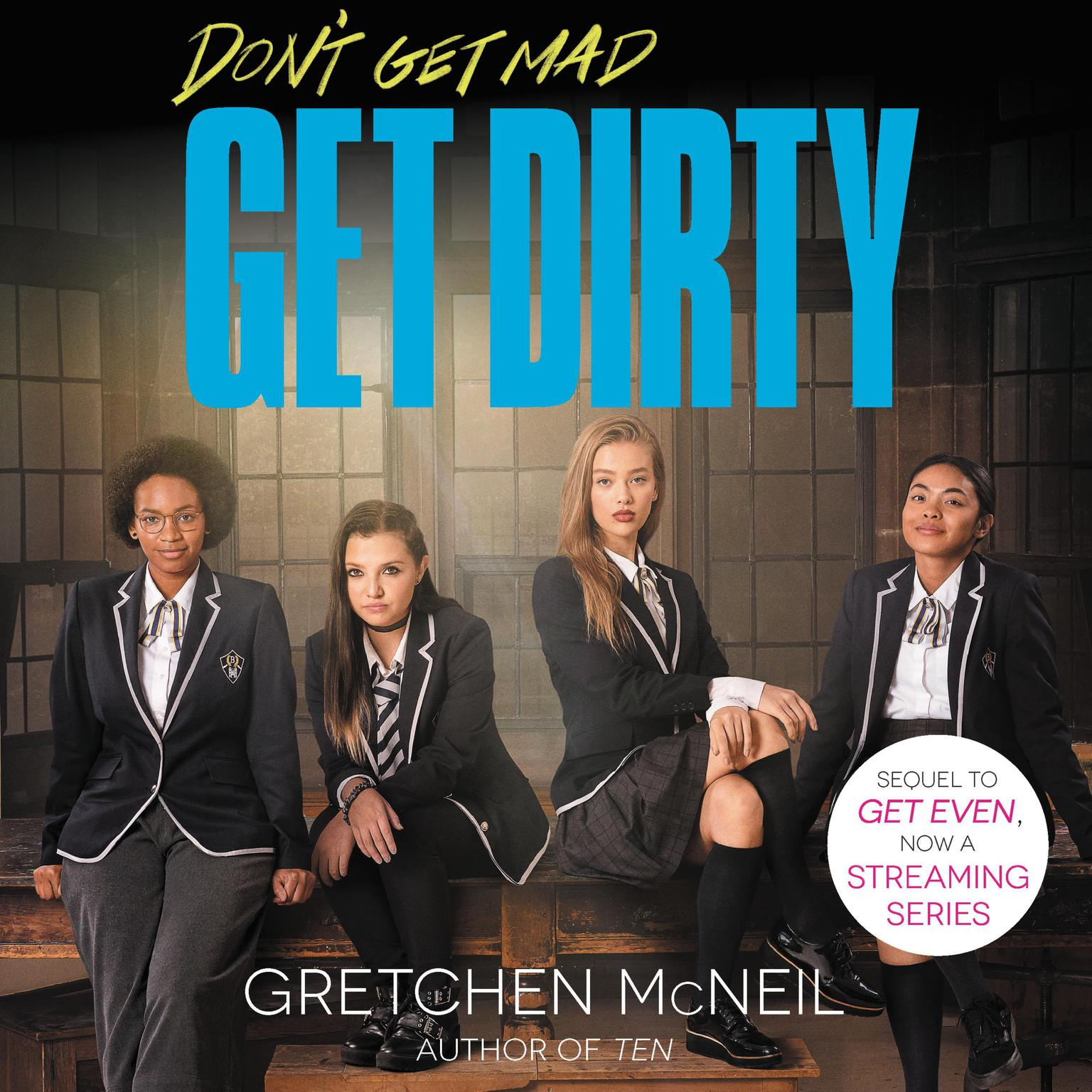 Printable Get Dirty Audiobook Cover Art