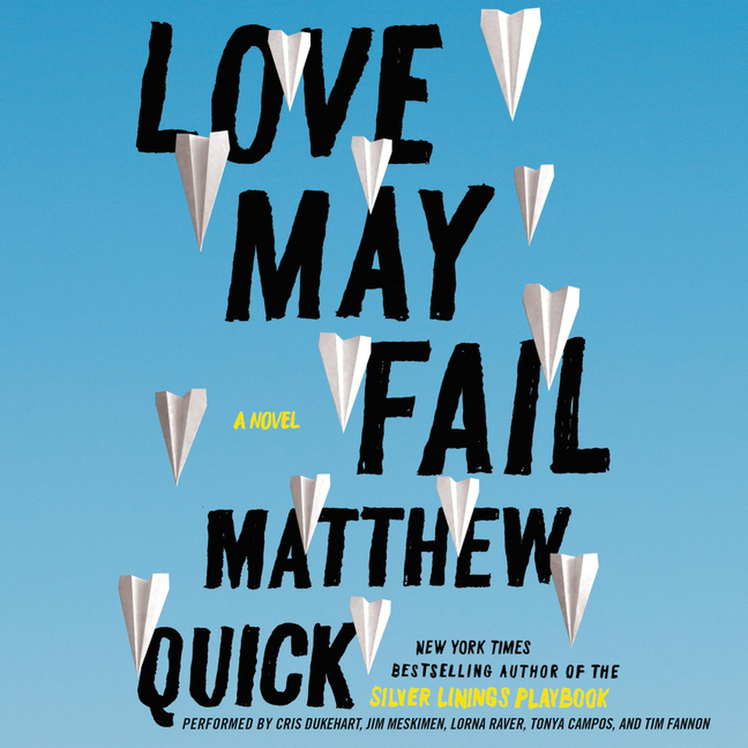 Printable Love May Fail: A Novel Audiobook Cover Art