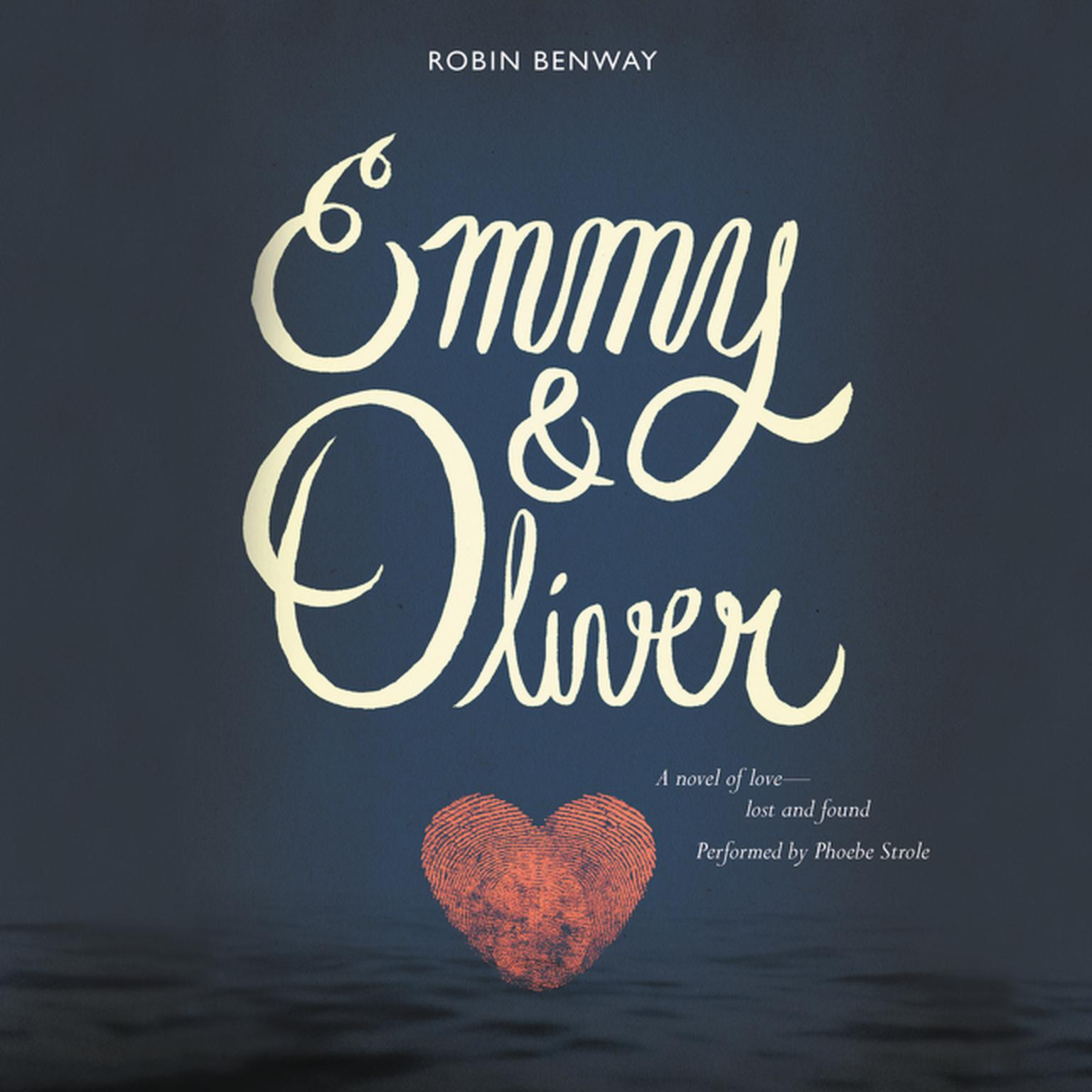 Printable Emmy & Oliver Audiobook Cover Art