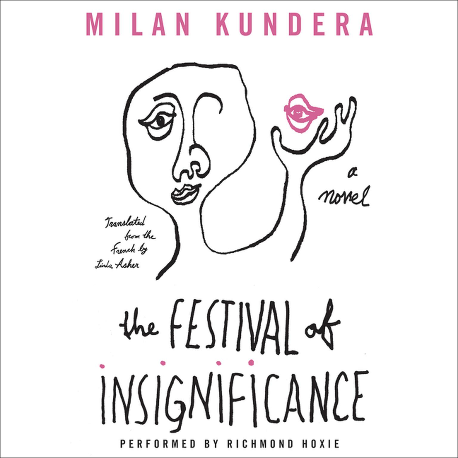 Printable The Festival of Insignificance: A Novel Audiobook Cover Art