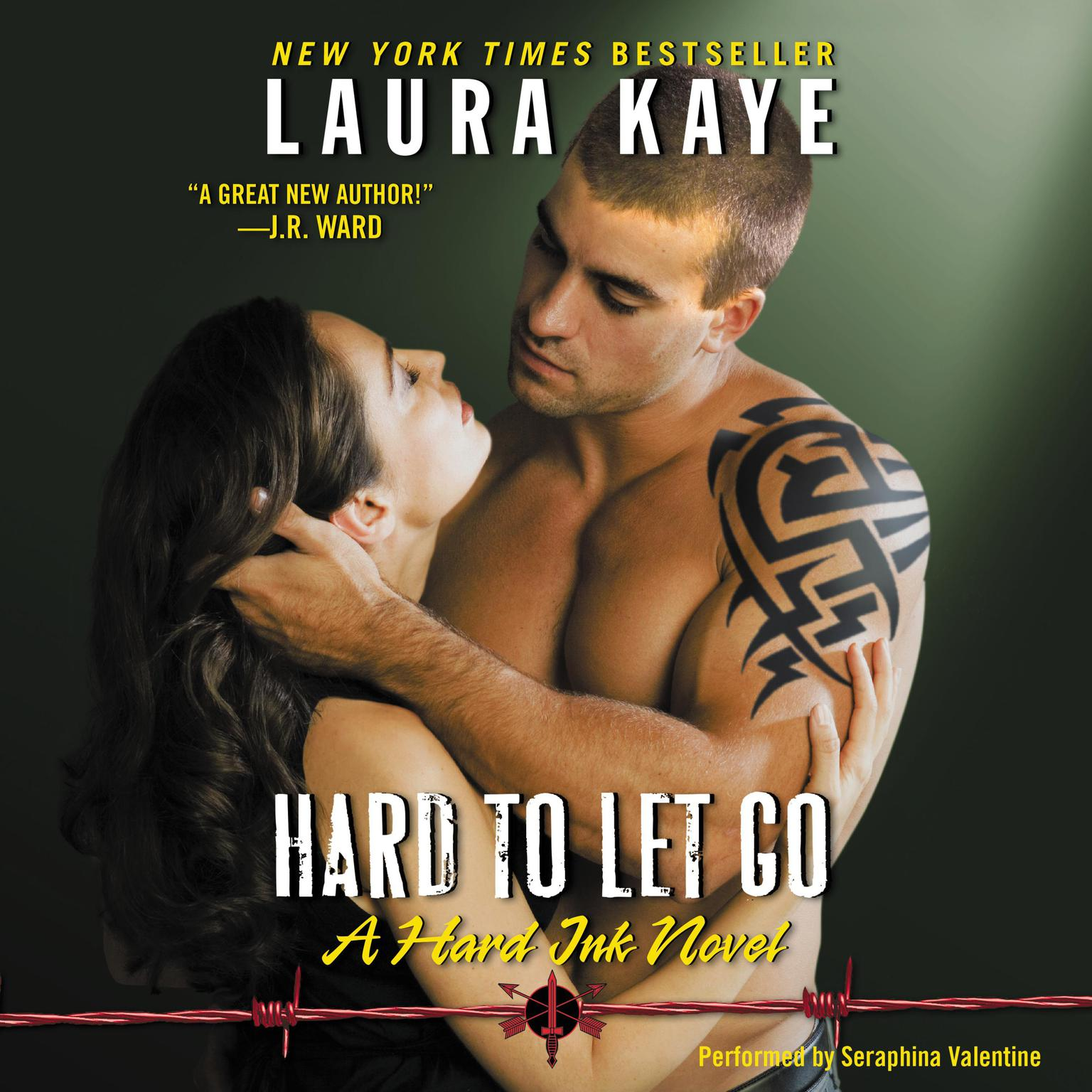 Printable Hard to Let Go: A Hard Ink Novel Audiobook Cover Art