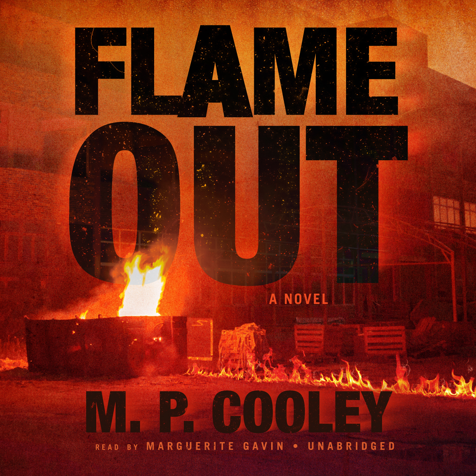 Printable Flame Out Audiobook Cover Art