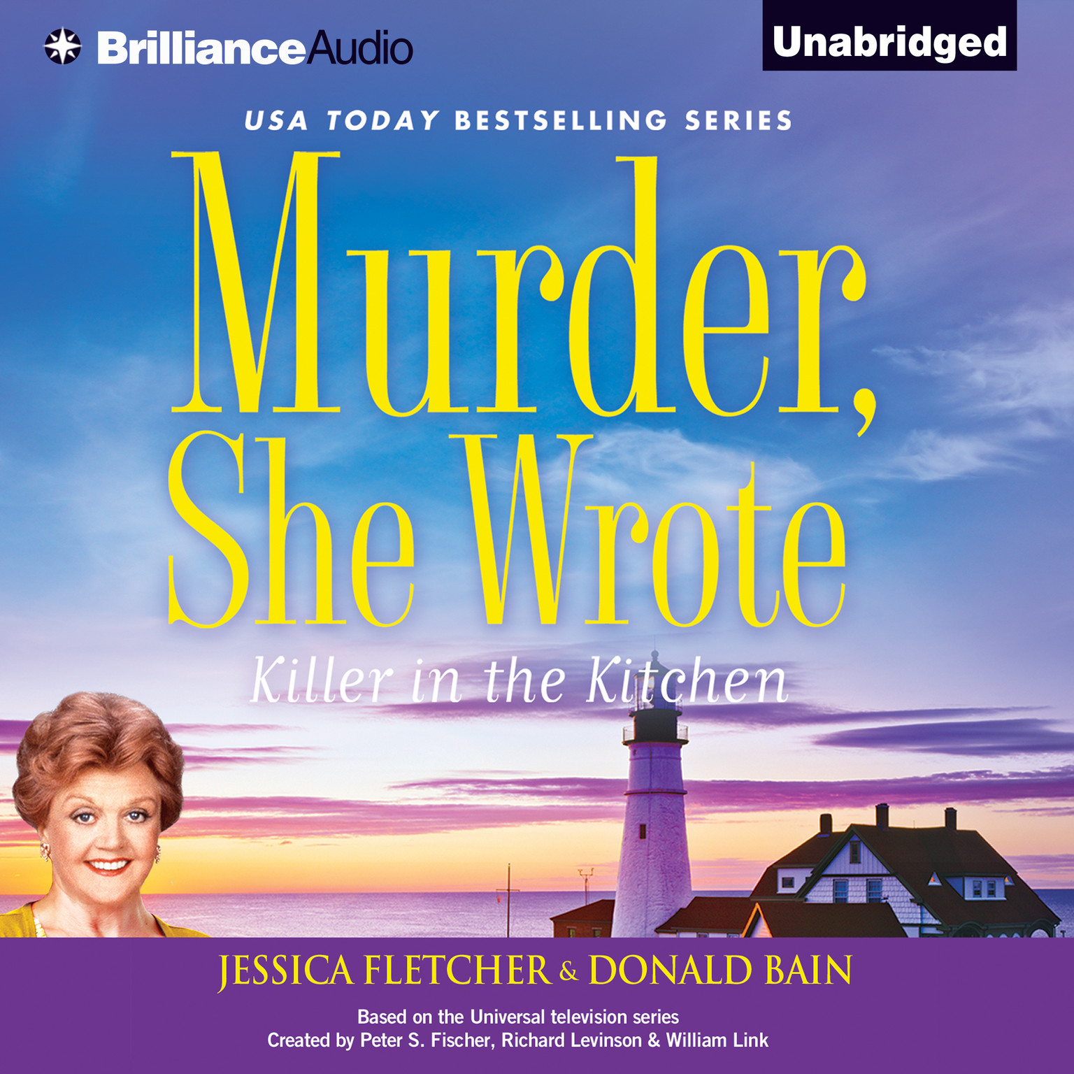Printable Murder, She Wrote: Killer in the Kitchen: A Murder, She Wrote Mystery Audiobook Cover Art