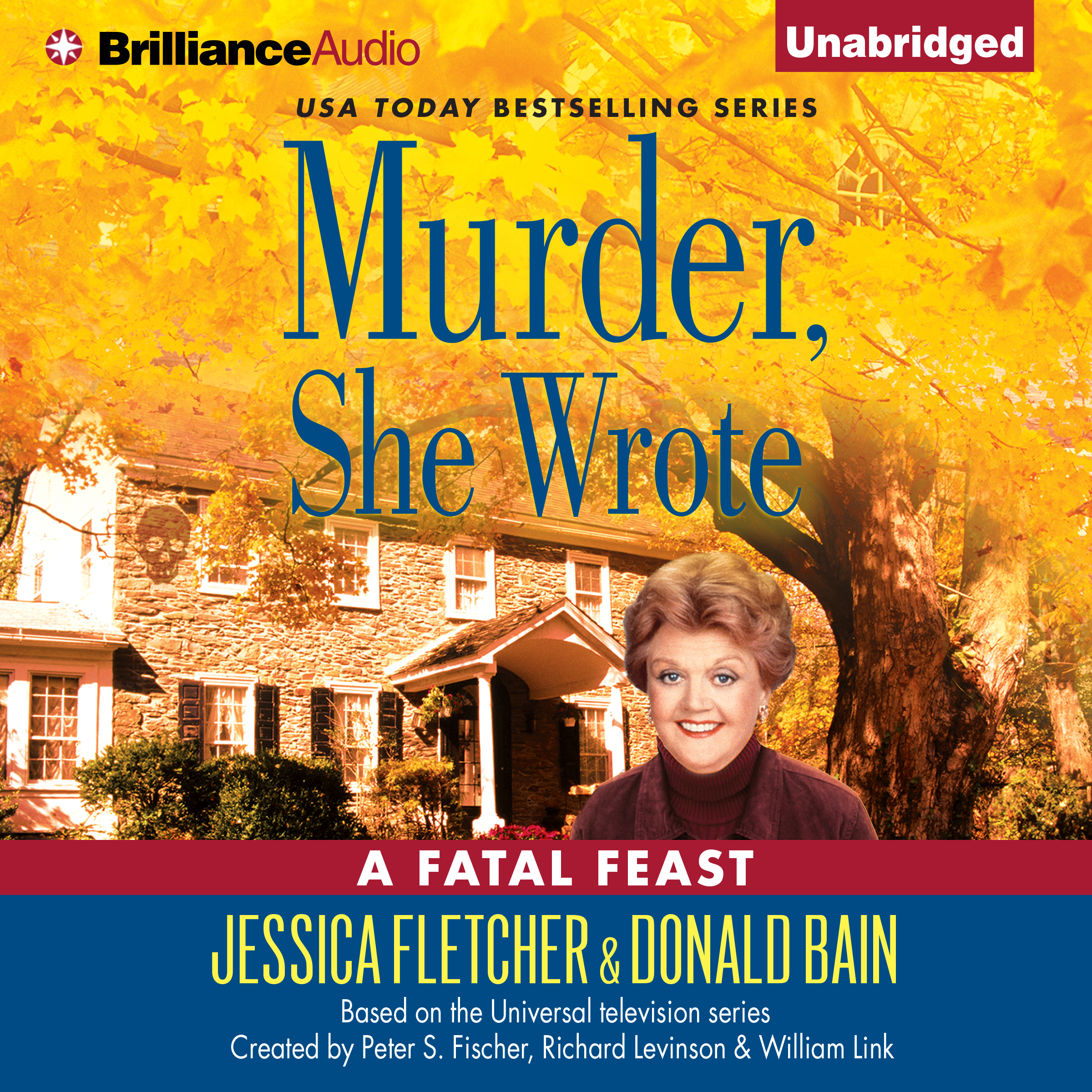 Printable Murder, She Wrote: A Fatal Feast: A Murder, She Wrote Mystery Audiobook Cover Art