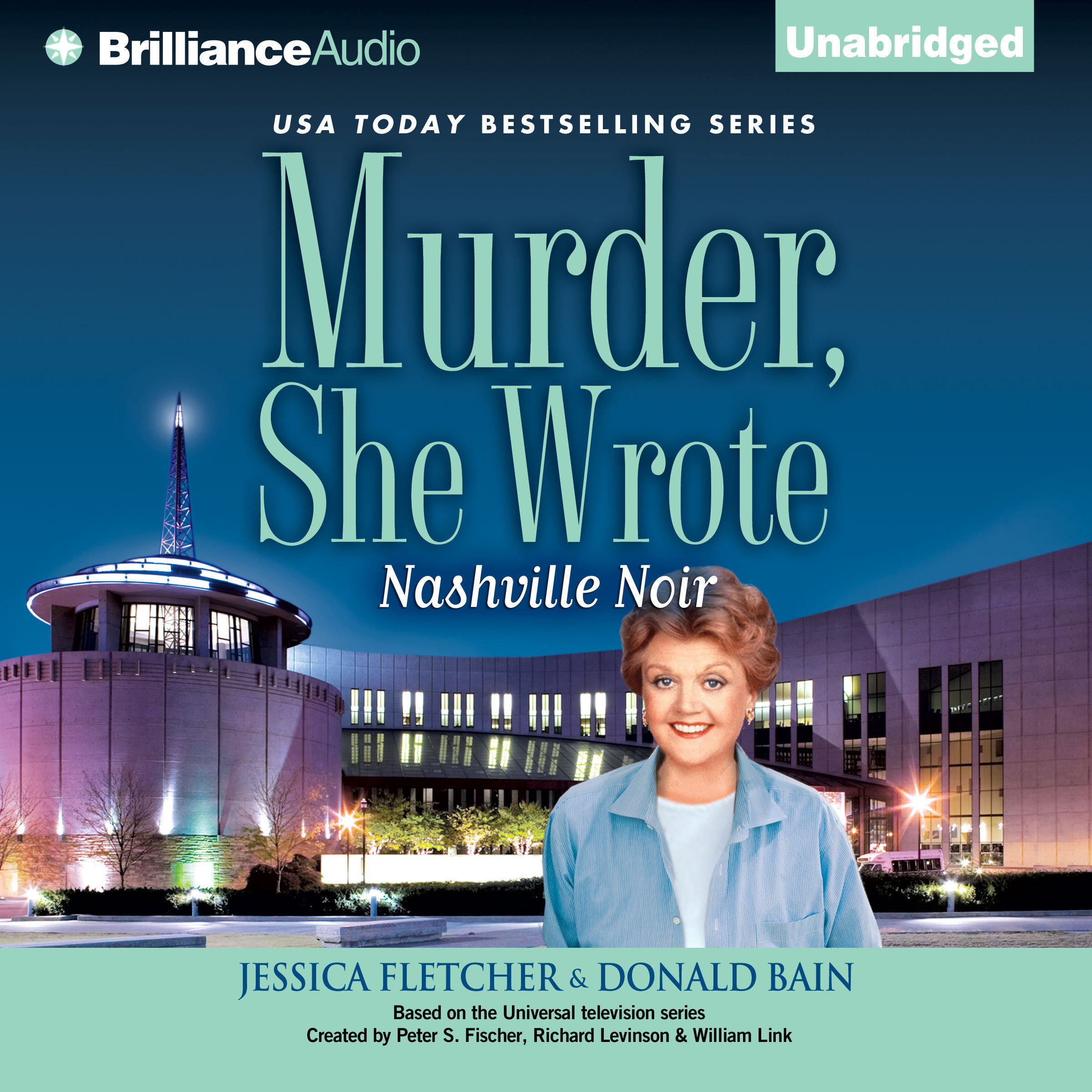 Printable Murder, She Wrote: Nashville Noir: A Murder, She Wrote Mystery Audiobook Cover Art