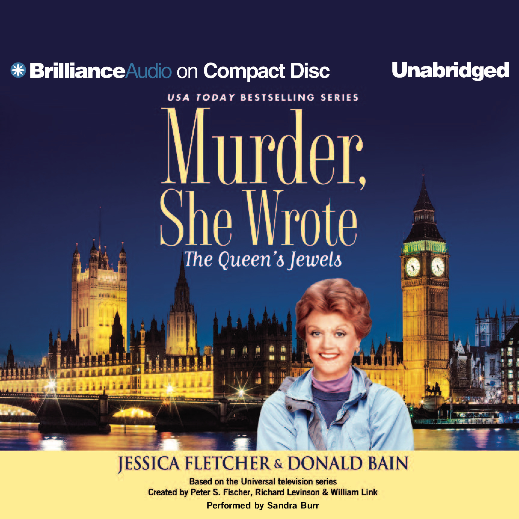 Printable The Queen's Jewels: A Murder, She Wrote Mystery Audiobook Cover Art