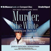 Skating on Thin Ice: A Murder, She Wrote Mystery, by Donald Bain, Jessica Fletcher