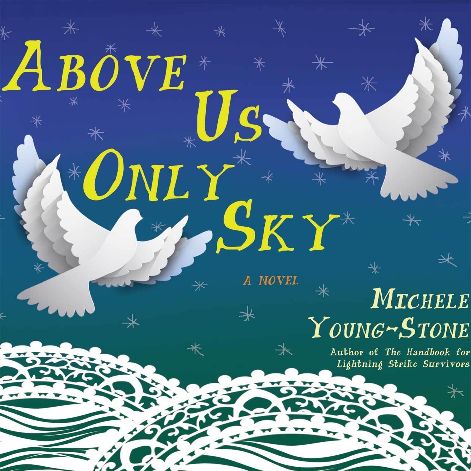 Printable Above Us Only Sky: A Novel Audiobook Cover Art