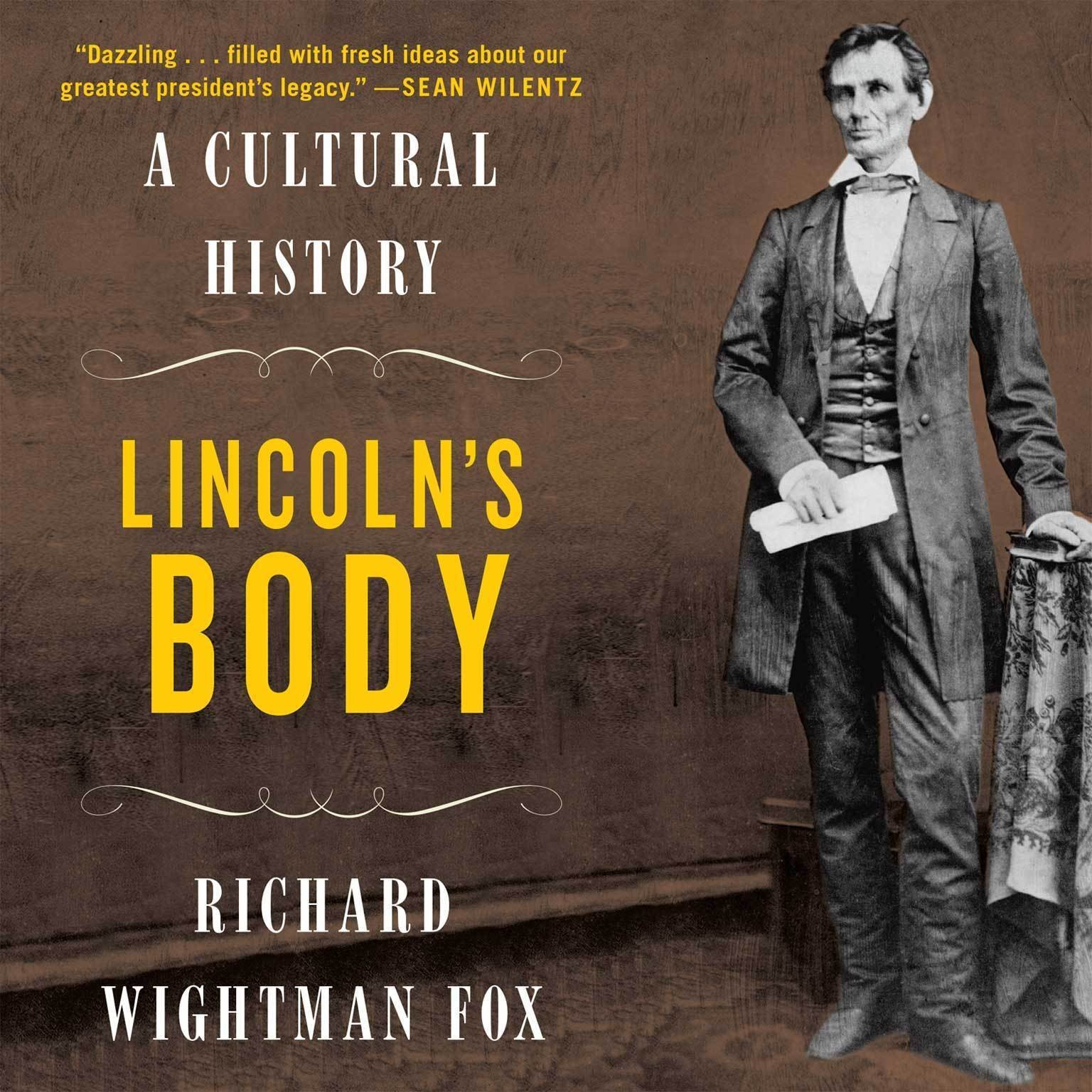 Printable Lincoln's Body: A Cultural History Audiobook Cover Art