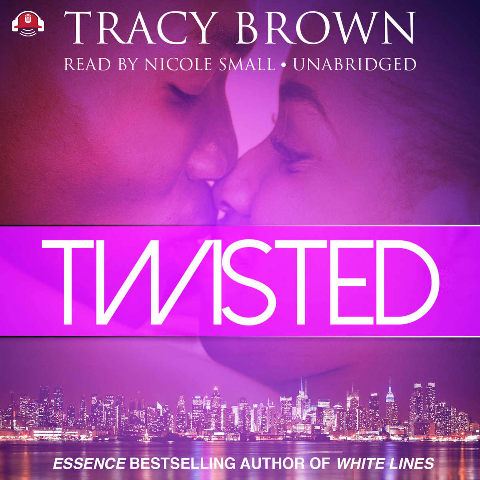 Printable Twisted Audiobook Cover Art