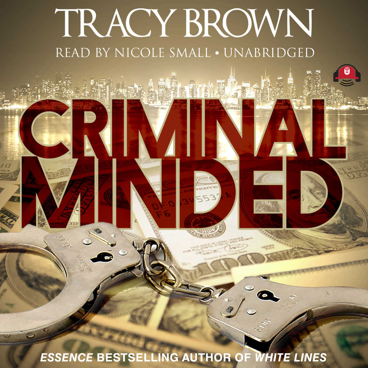 Printable Criminal Minded: A Novel Audiobook Cover Art