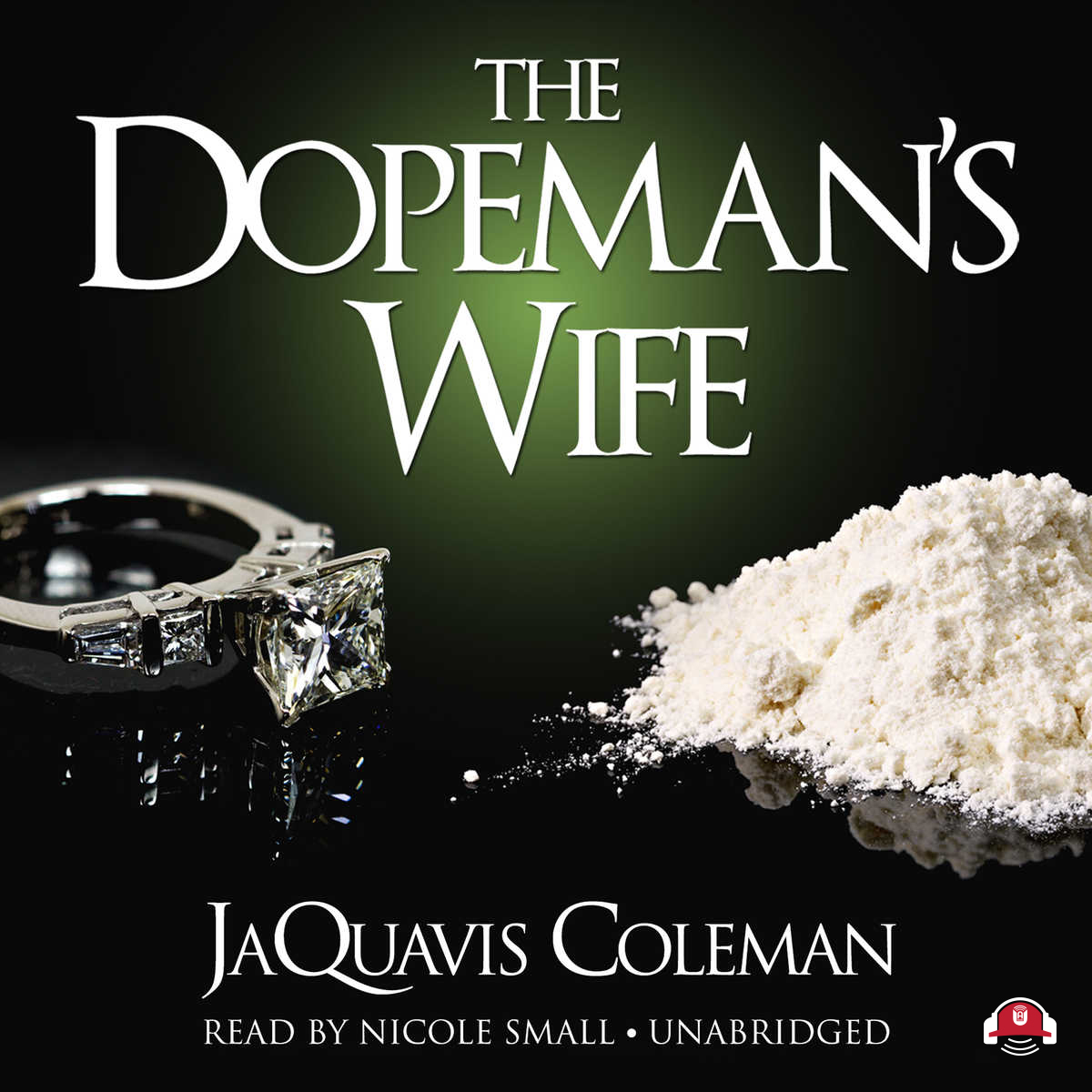 Printable The Dopeman's Wife Audiobook Cover Art