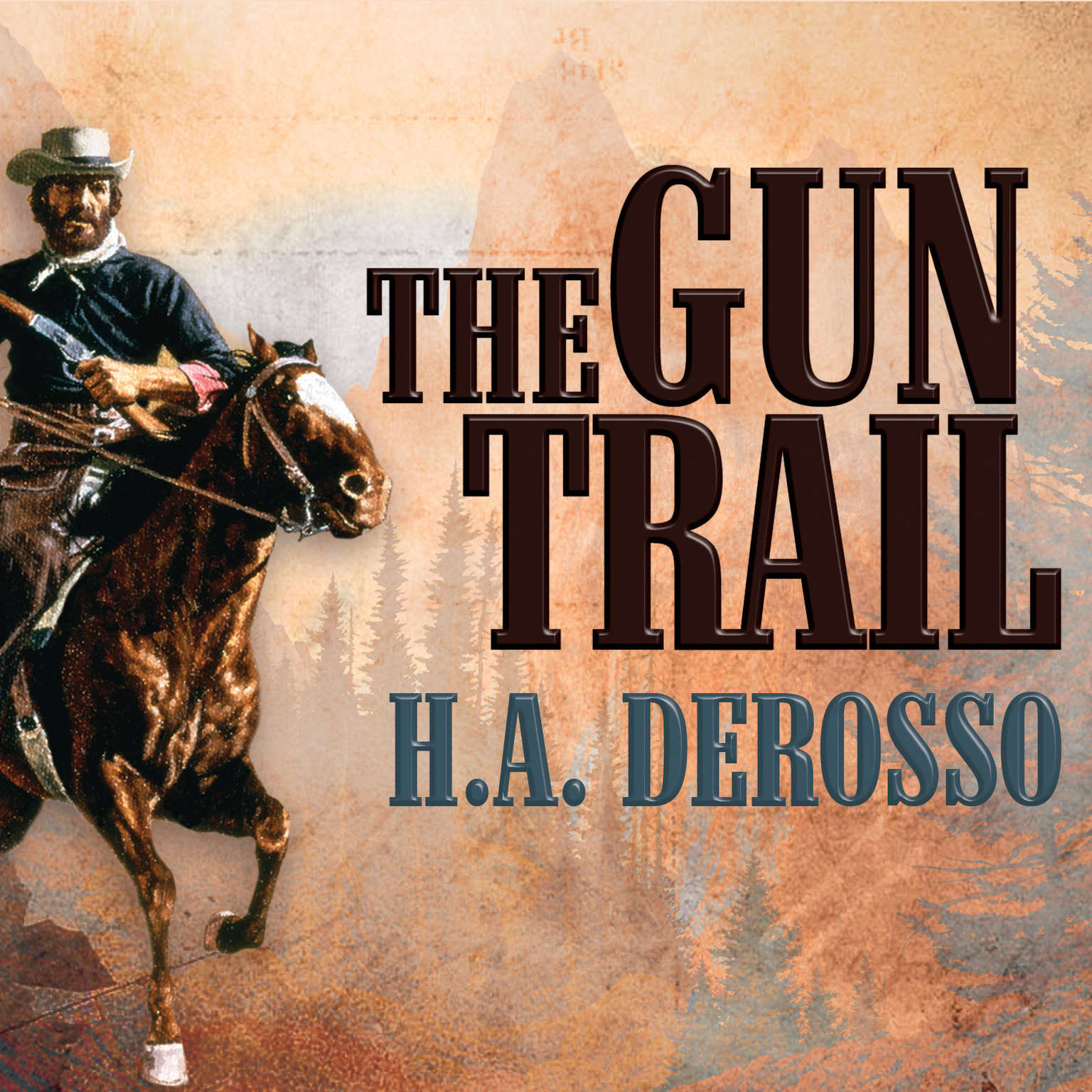 Printable The Gun Trail Audiobook Cover Art