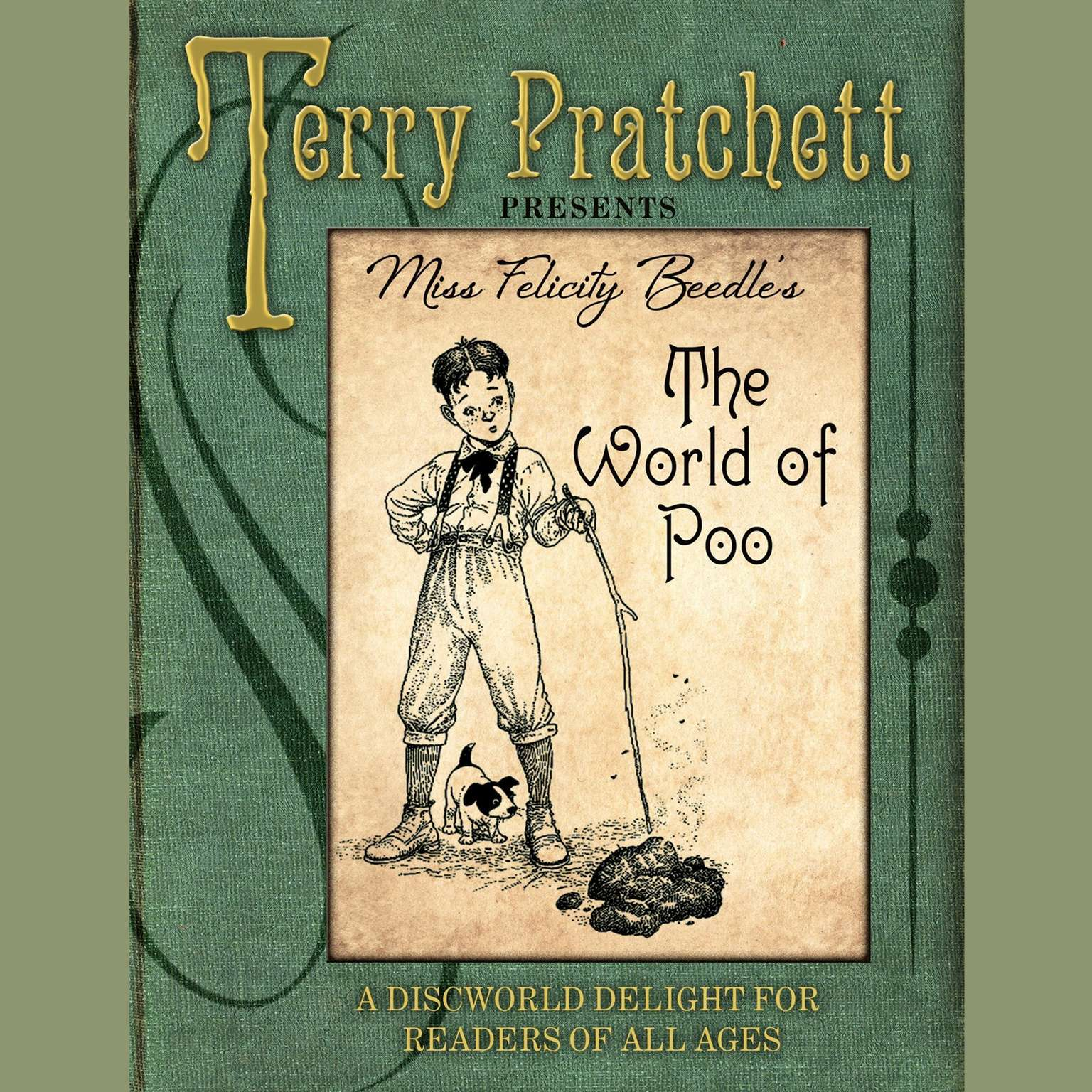 Printable The World of Poo Audiobook Cover Art