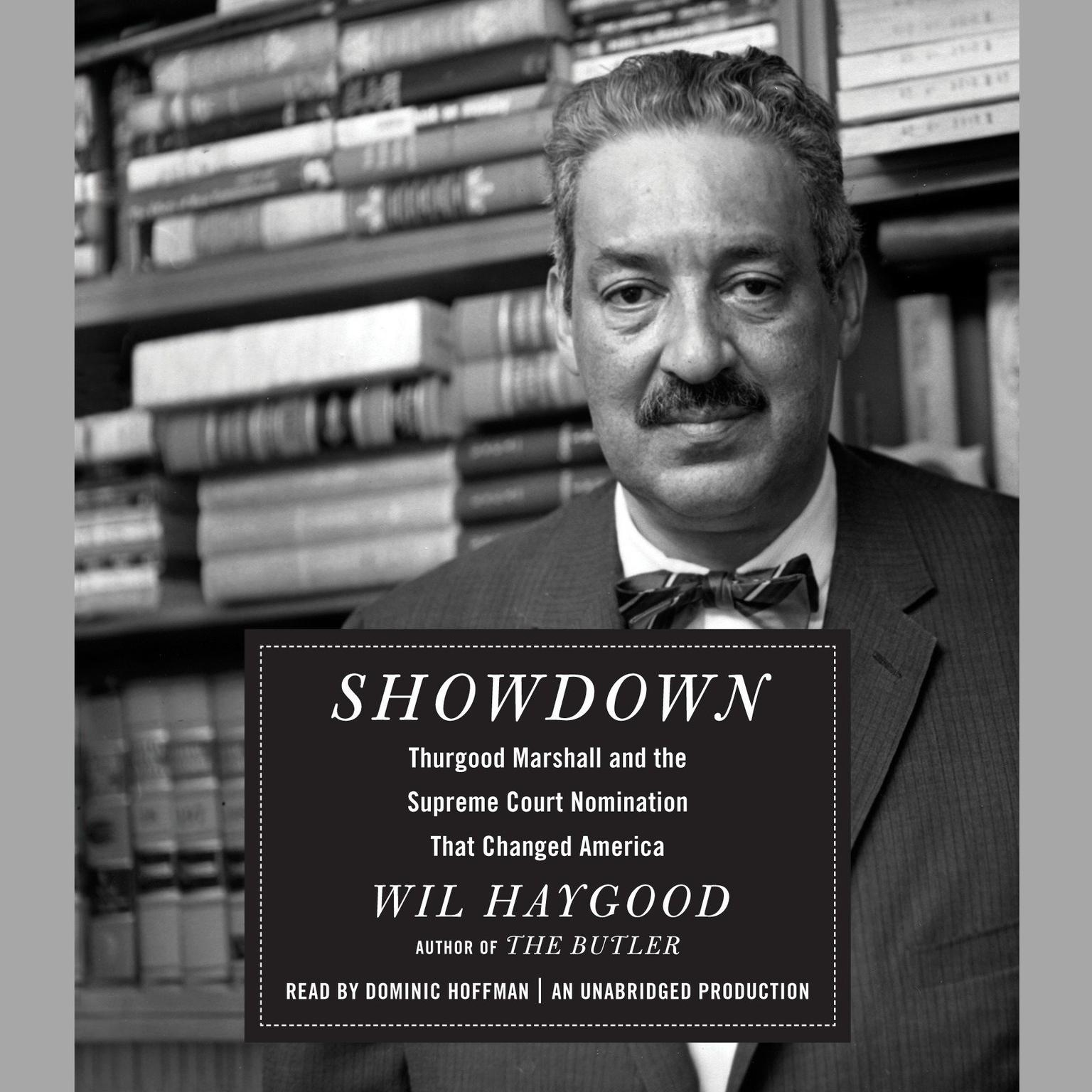 Printable Showdown: Thurgood Marshall and the Supreme Court Nomination That Changed America Audiobook Cover Art