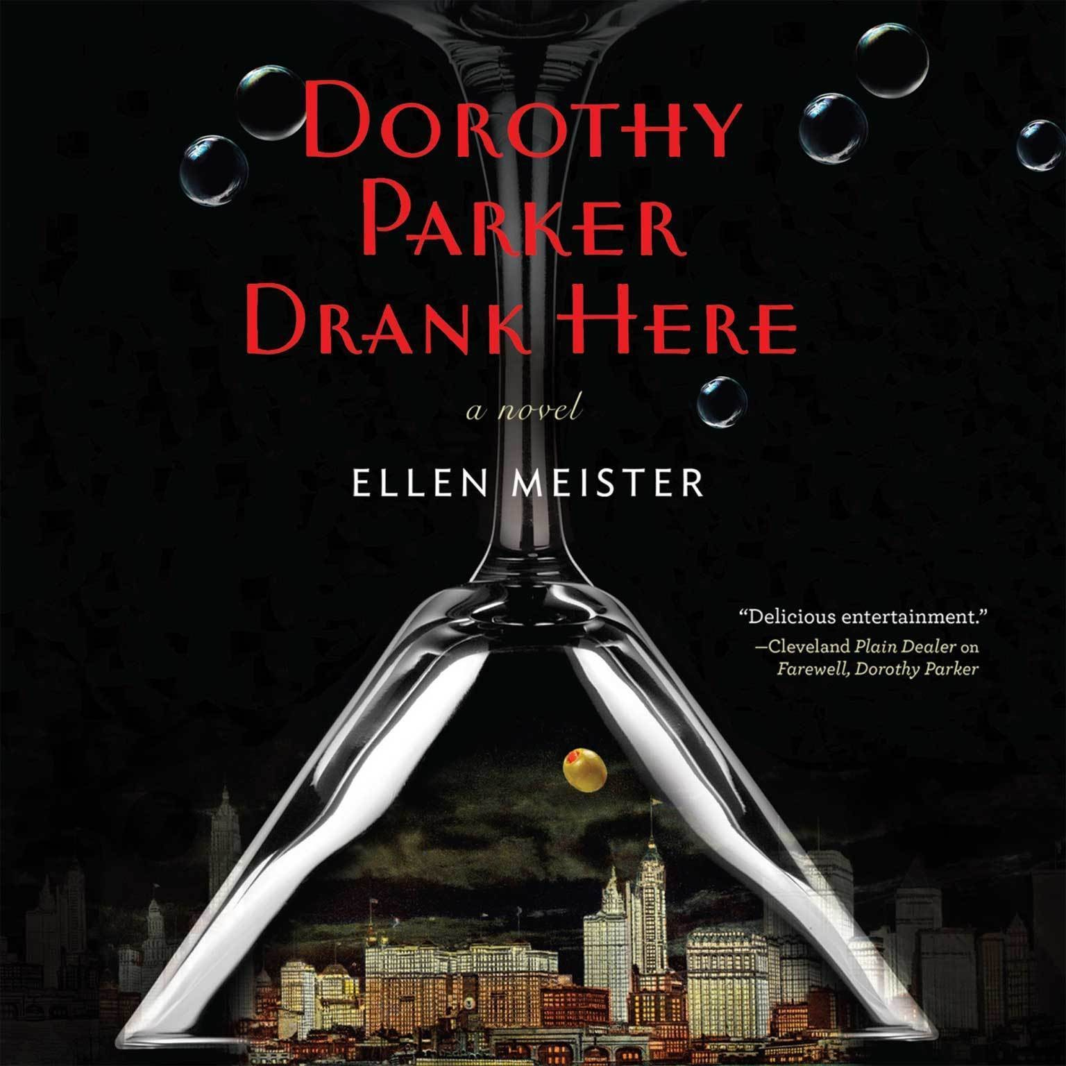 Printable Dorothy Parker Drank Here Audiobook Cover Art