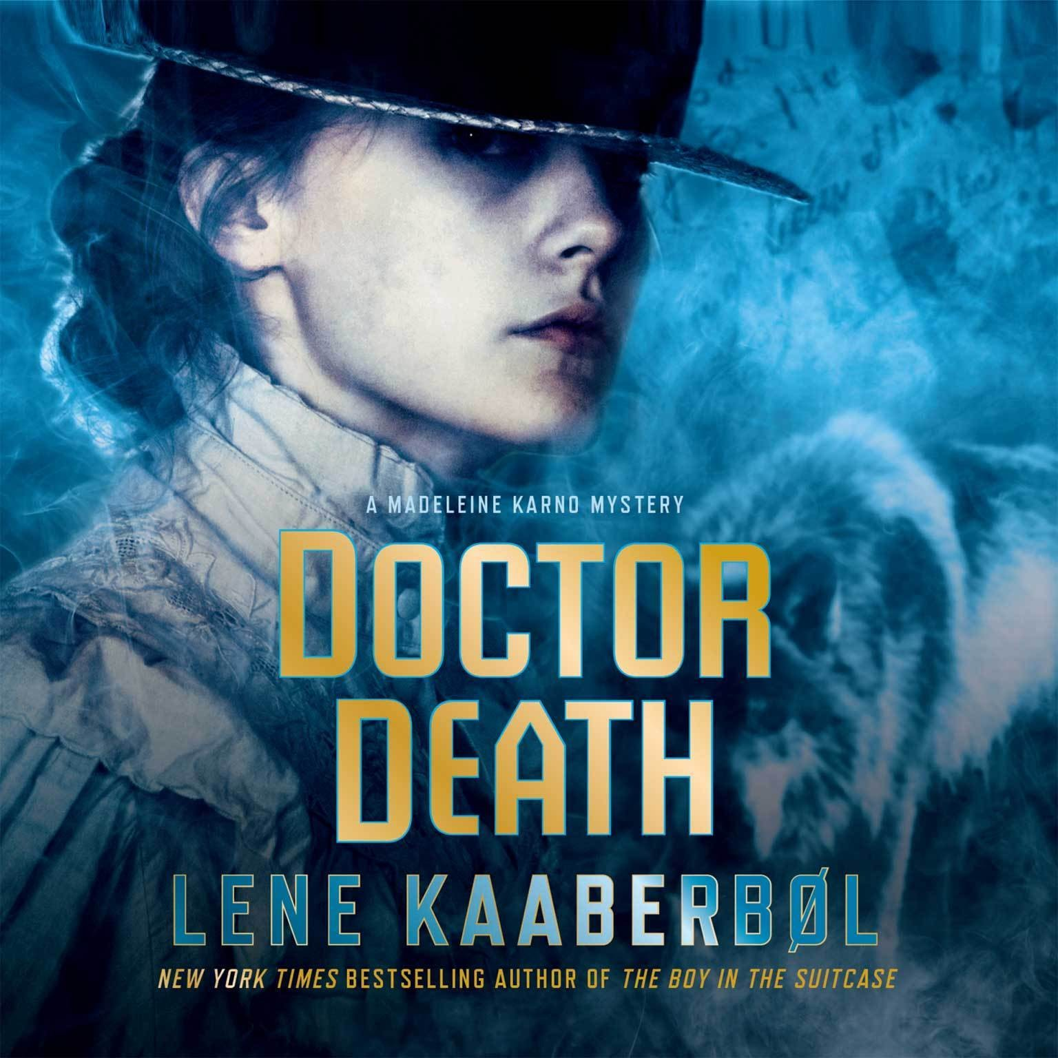 Printable Doctor Death: A Madeleine Karno Mystery Audiobook Cover Art