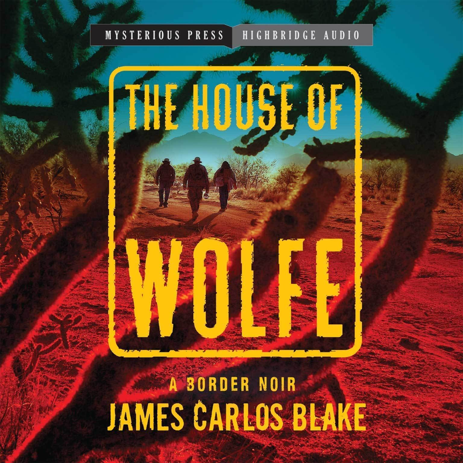 Printable The House of Wolfe: A Border Noir Audiobook Cover Art