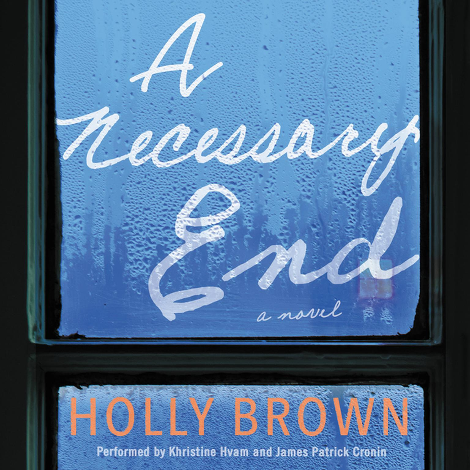 Printable A Necessary End: A Novel Audiobook Cover Art