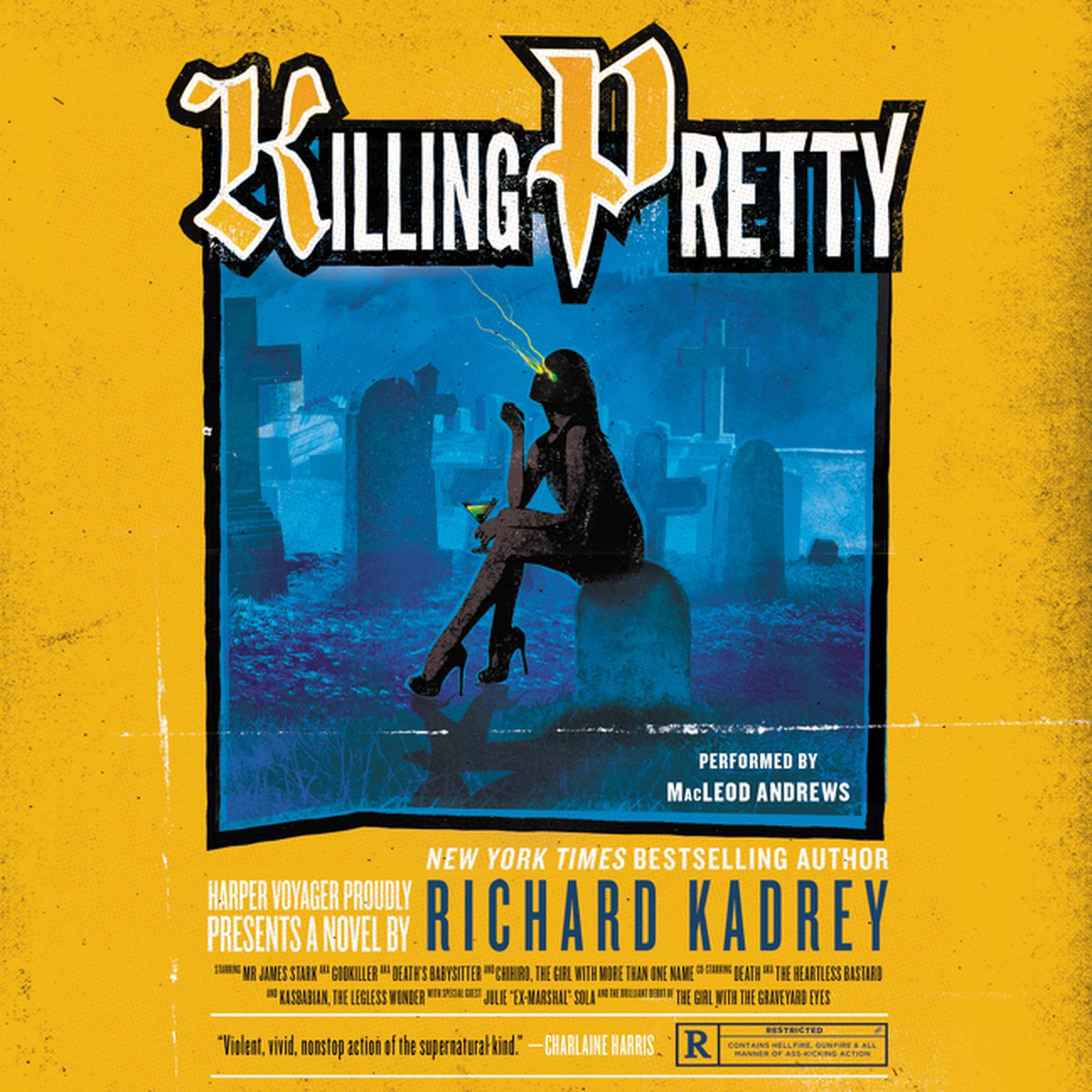Printable Killing Pretty: A Sandman Slim Novel Audiobook Cover Art