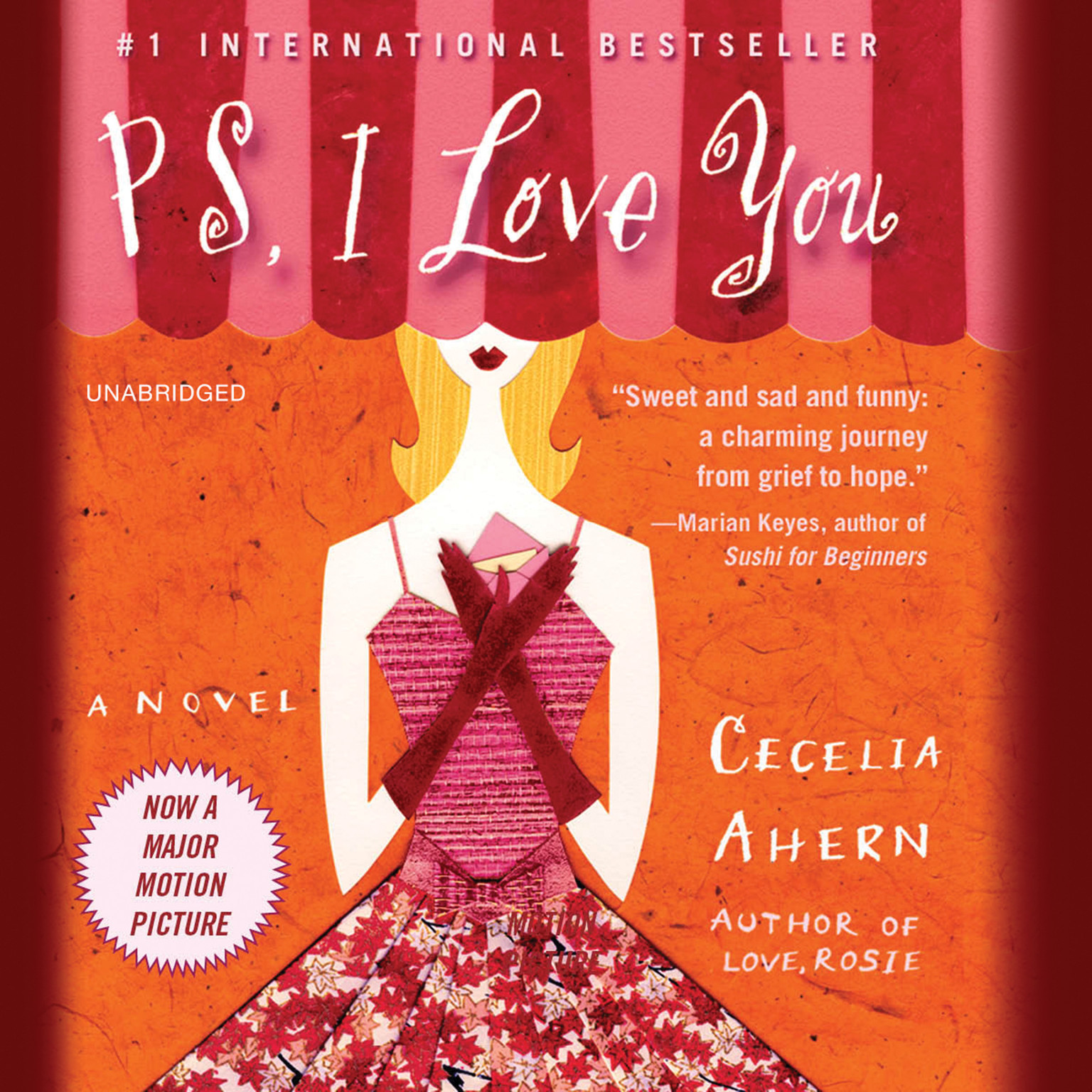 Printable PS, I Love You: A Novel Audiobook Cover Art