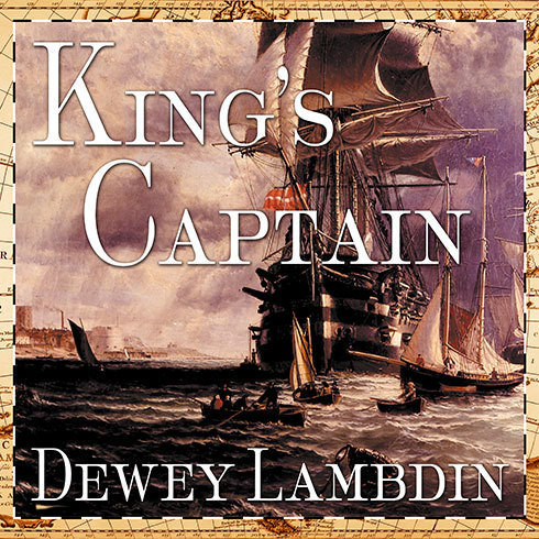 Printable King's Captain Audiobook Cover Art