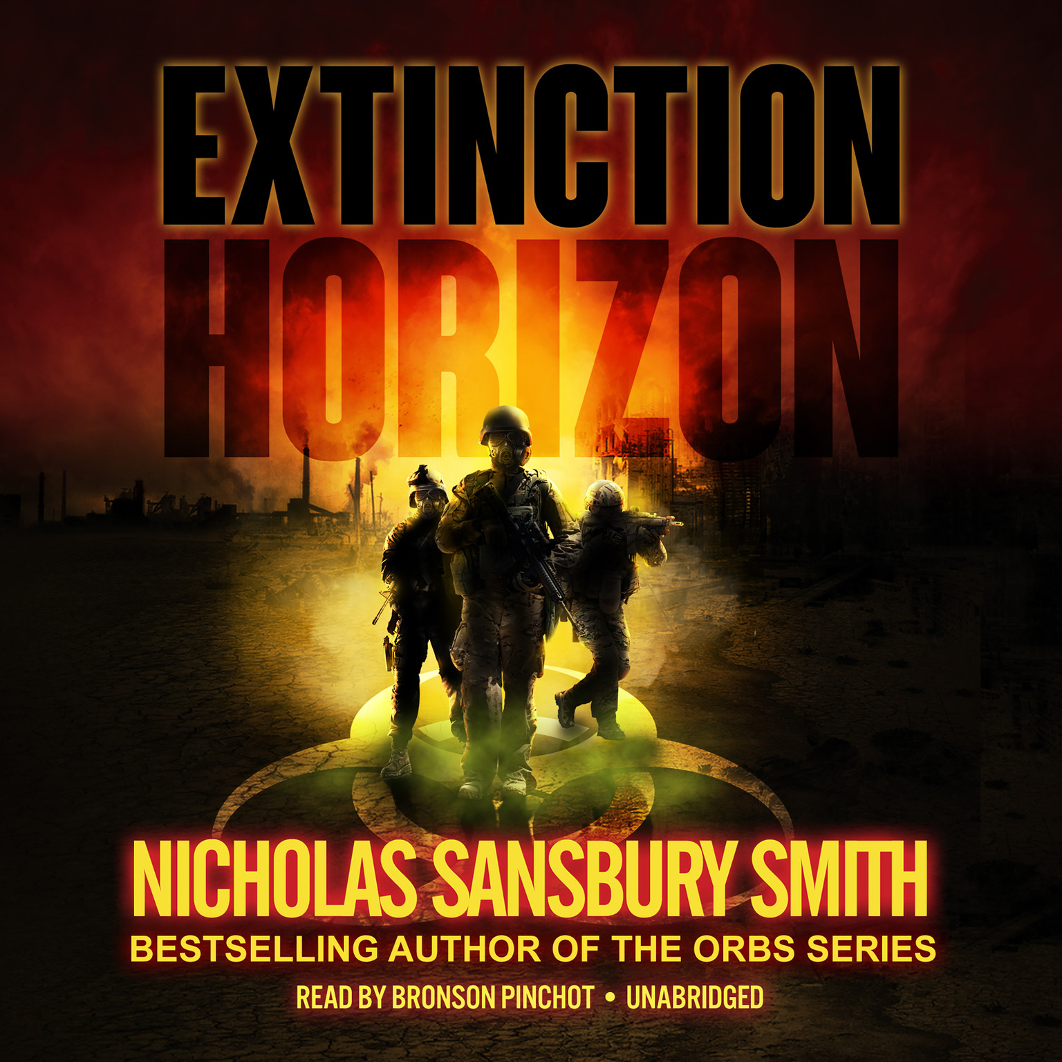 Printable Extinction Horizon  Audiobook Cover Art