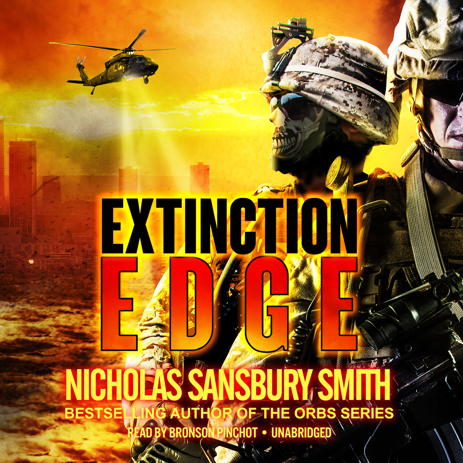 Printable Extinction Edge Audiobook Cover Art