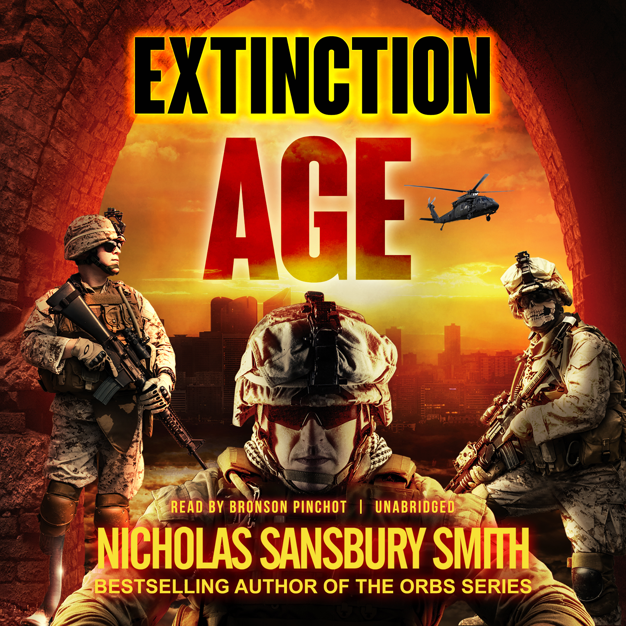 Printable Extinction Age Audiobook Cover Art