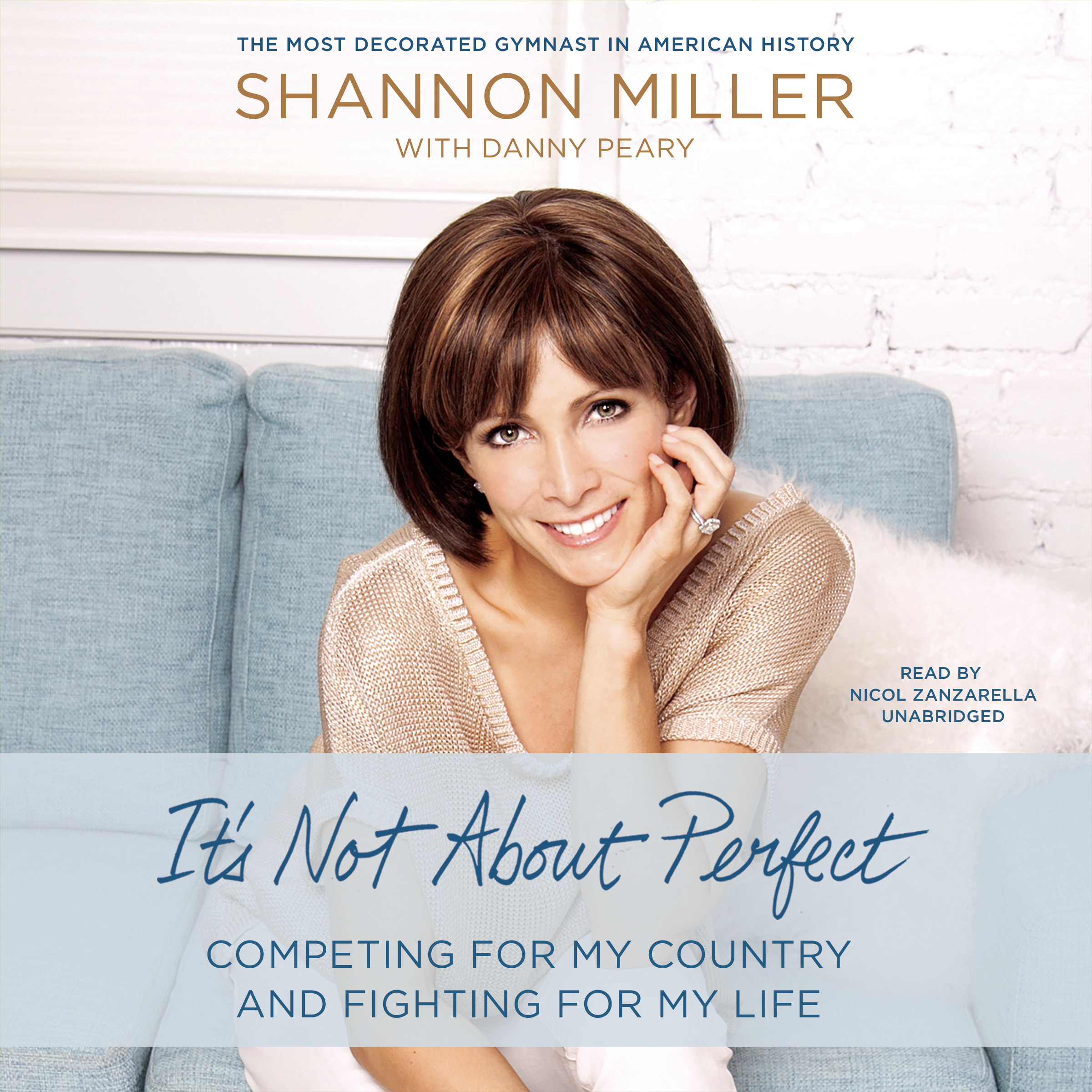 Printable It's Not about Perfect: Competing for My Country and Fighting for My Life Audiobook Cover Art