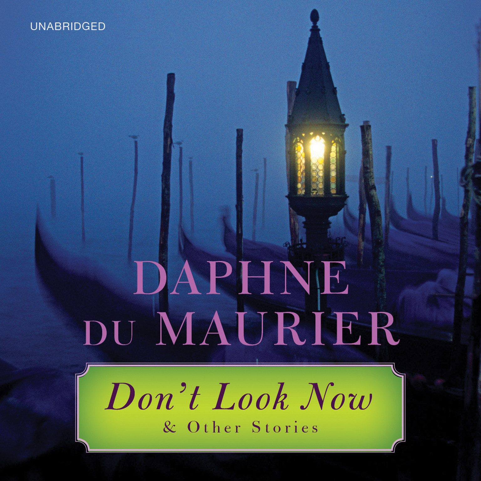 Printable Don't Look Now: and Other Stories Audiobook Cover Art