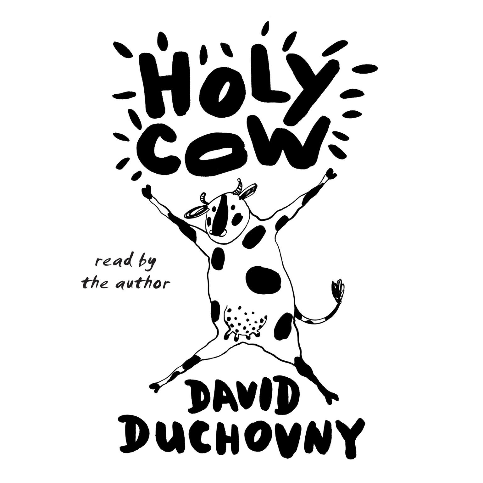 Printable Holy Cow: A Novel Audiobook Cover Art