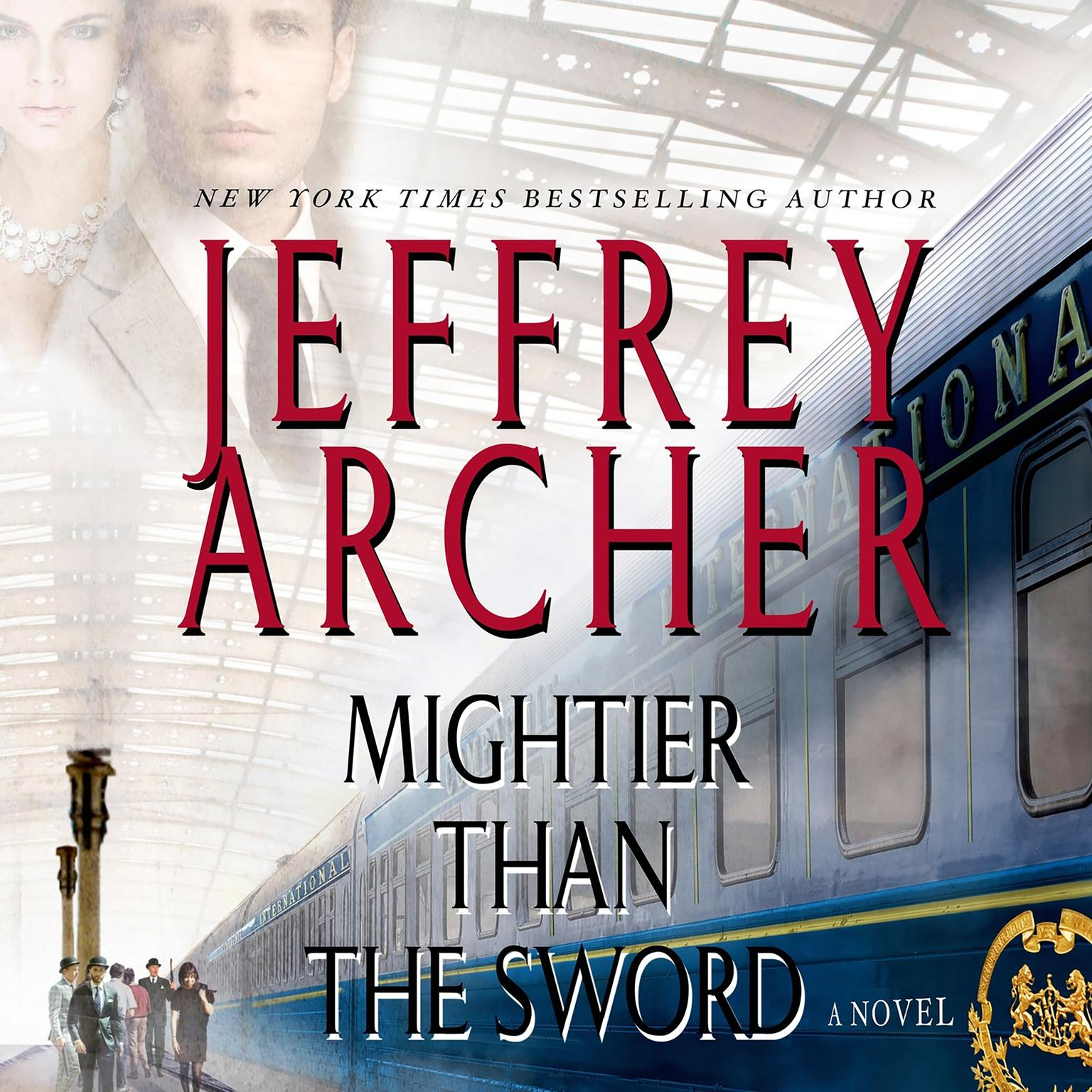 Printable Mightier Than the Sword: A Novel Audiobook Cover Art