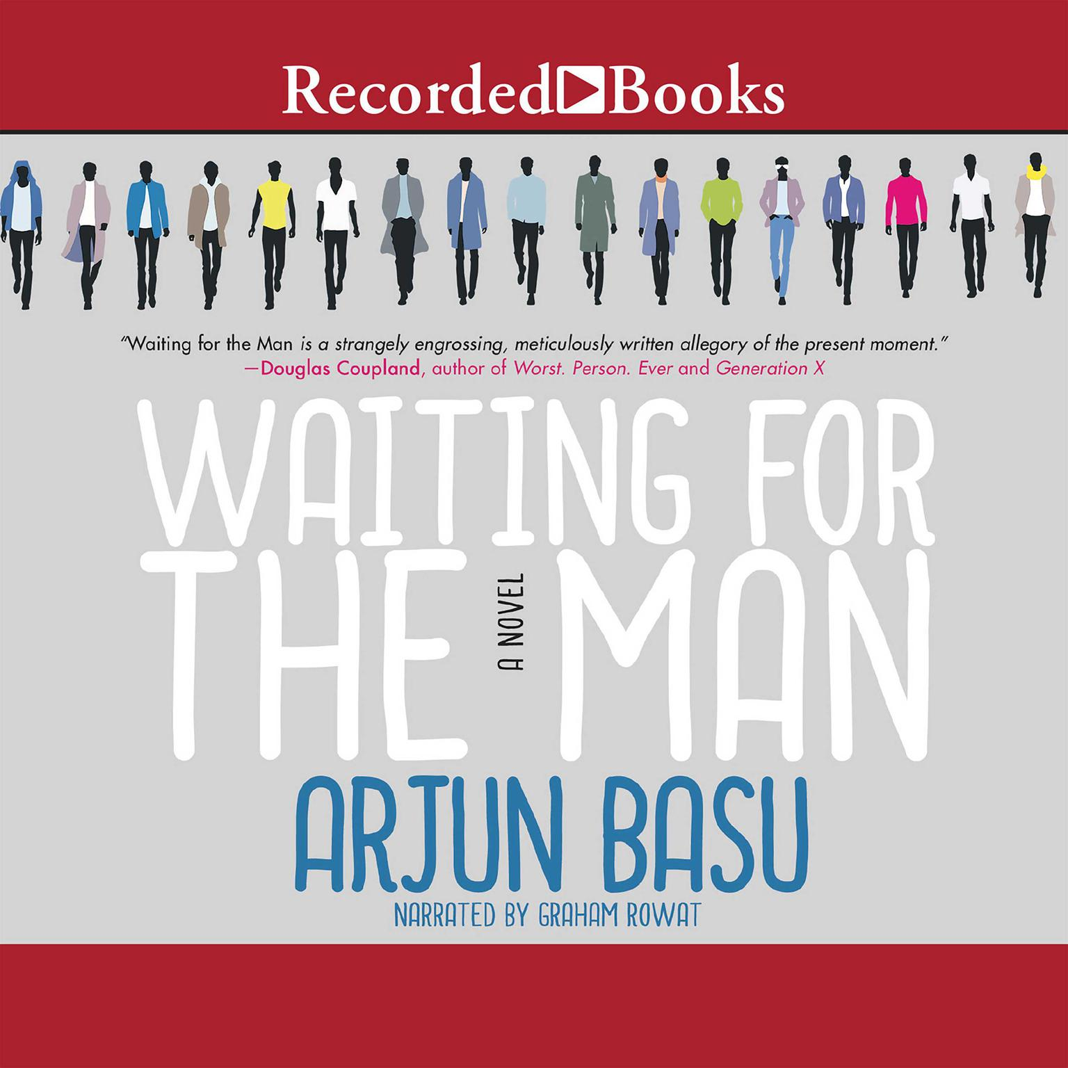 Printable Waiting for the Man Audiobook Cover Art
