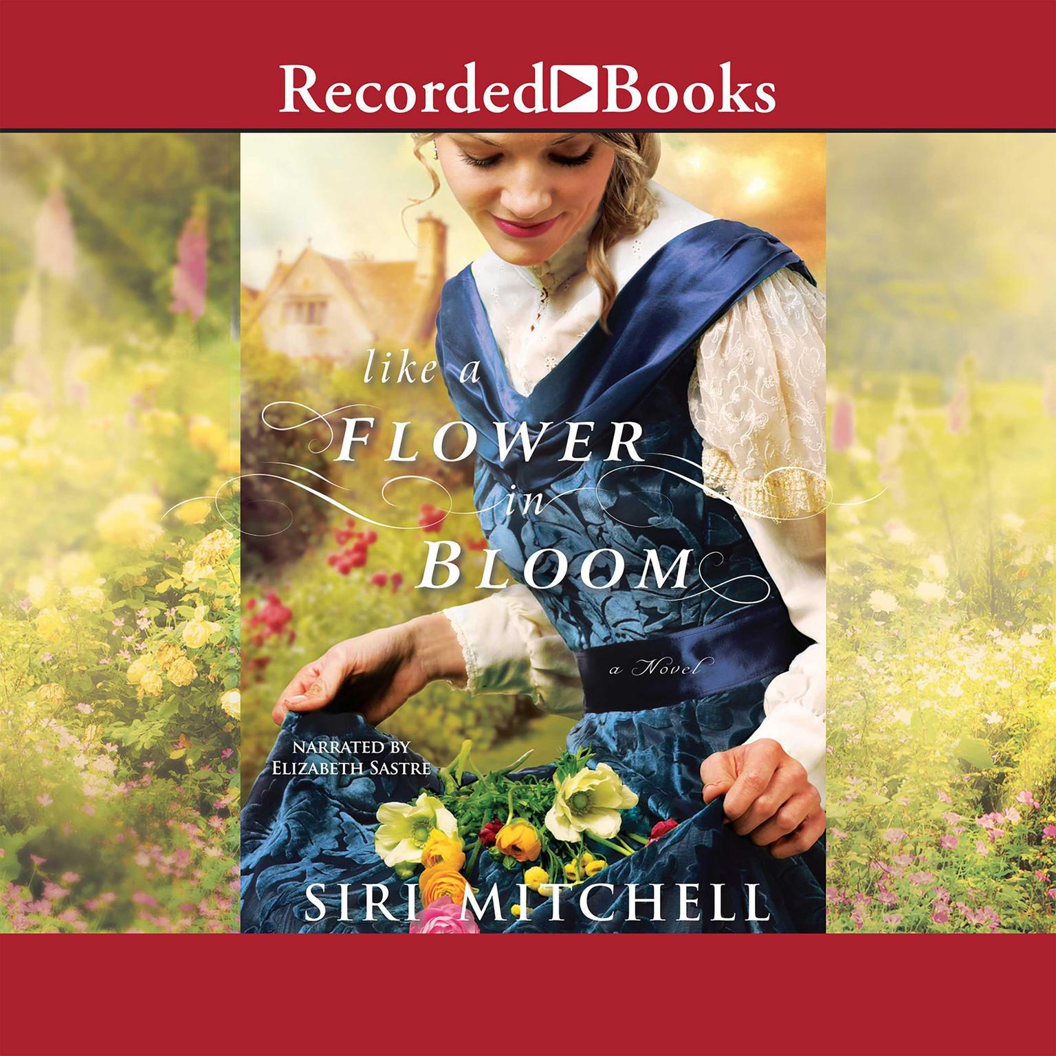 Printable Like a Flower in Bloom Audiobook Cover Art