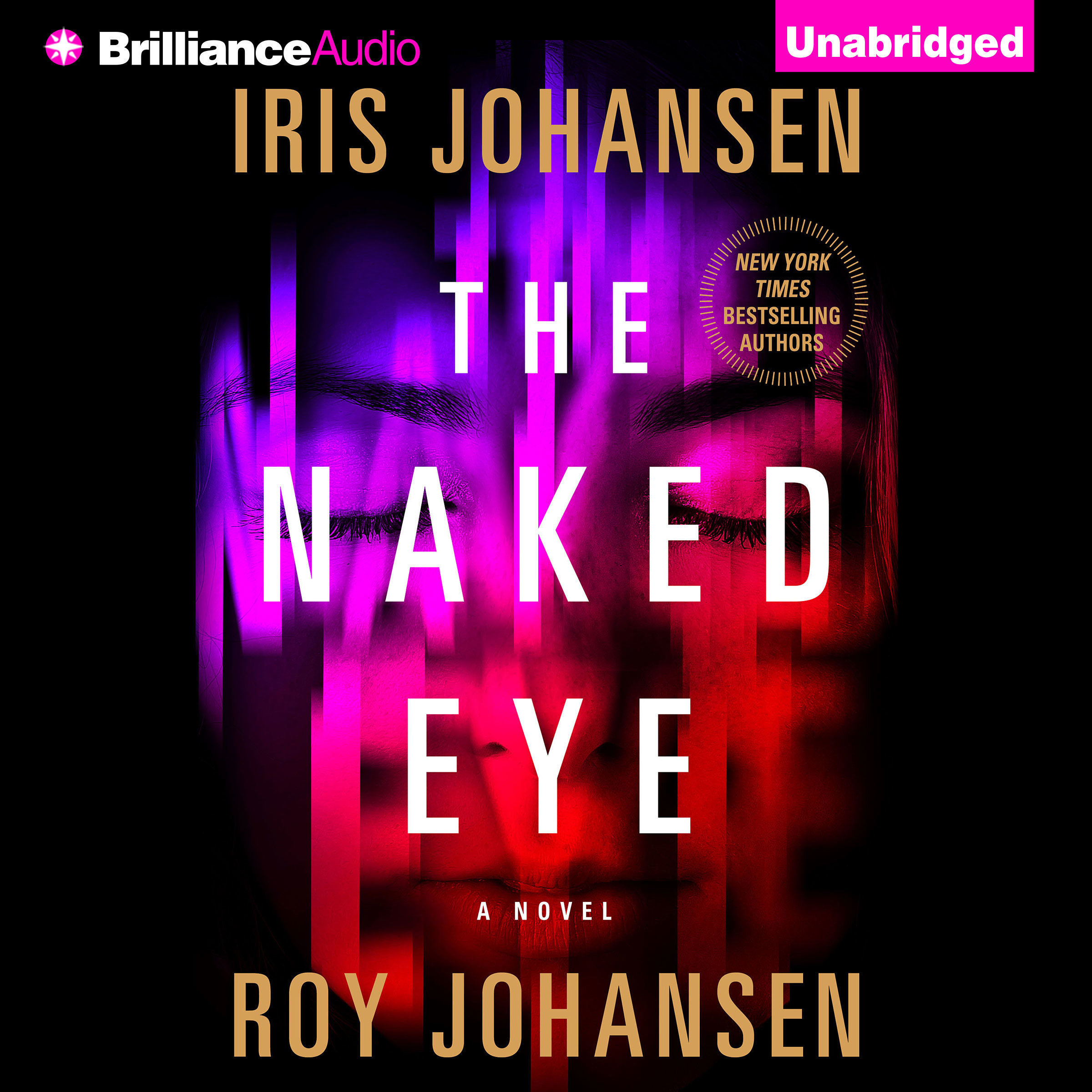 Printable The Naked Eye: A Novel Audiobook Cover Art