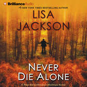 Never Die Alone Audiobook, by Lisa Jackson