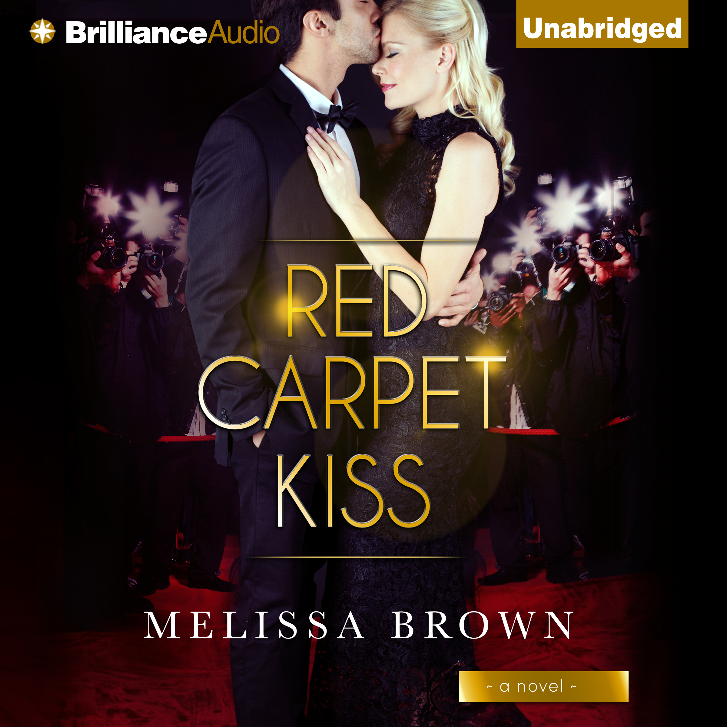 Printable Red Carpet Kiss Audiobook Cover Art