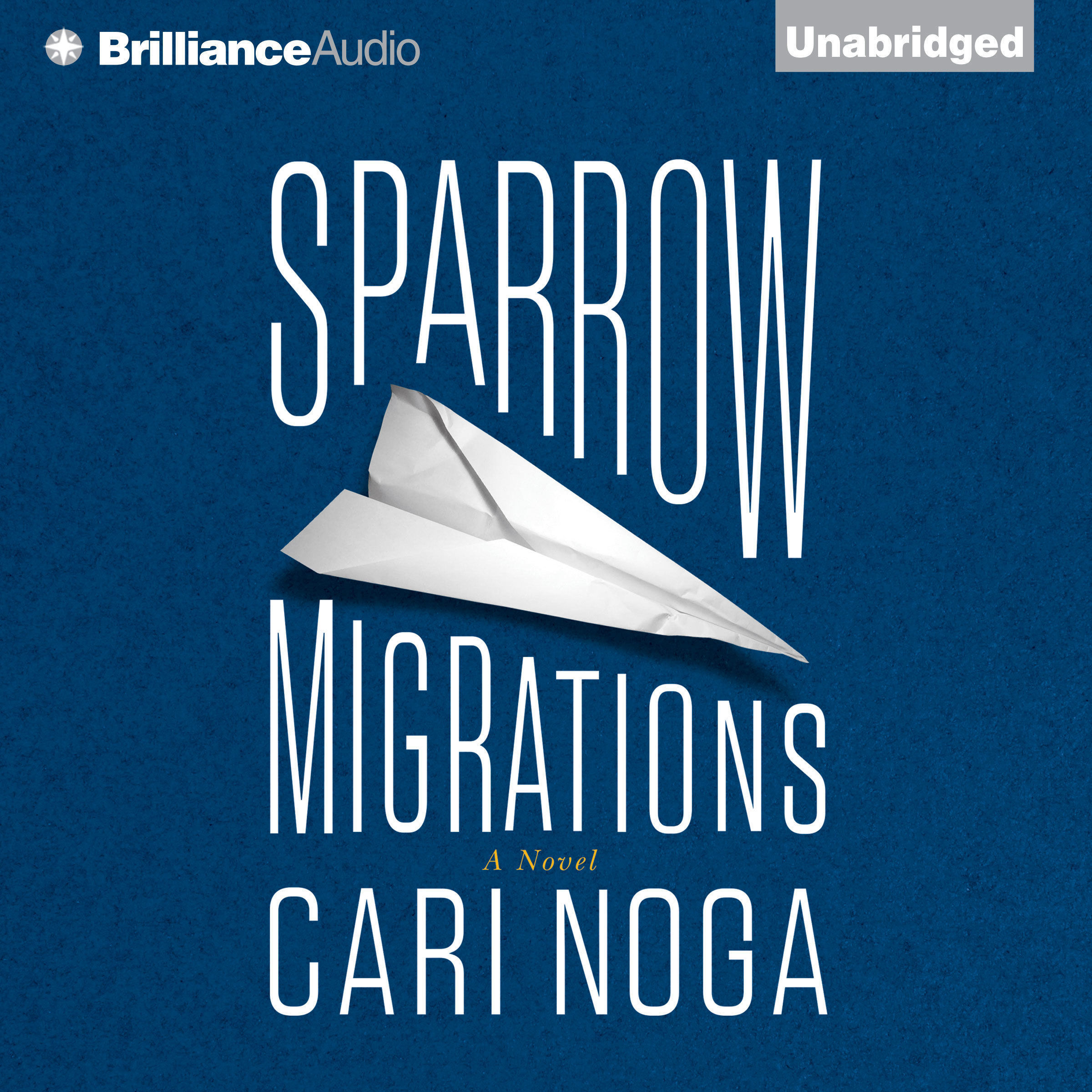 Printable Sparrow Migrations: A Novel Audiobook Cover Art