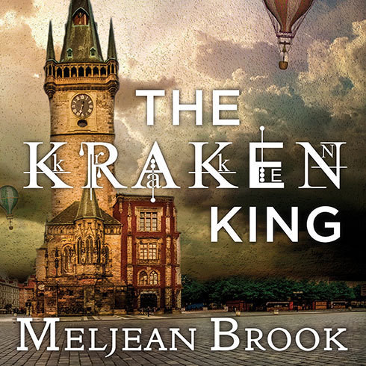 Printable The Kraken King Audiobook Cover Art